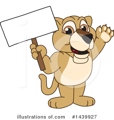 Lion School Mascot Clipart #1439927 by Toons4Biz
