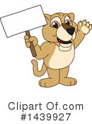 Royalty-Free (RF) Lion Cub Mascot Clipart Illustration #1439927
