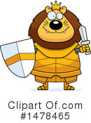 Lion Knight Clipart #1478465