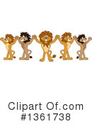 Lion School Mascot Clipart #1361738 by Toons4Biz