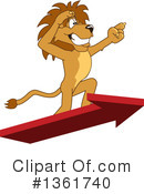Lion School Mascot Clipart #1361740 by Toons4Biz
