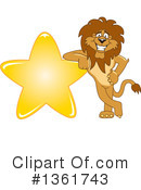 Lion School Mascot Clipart #1361743 by Toons4Biz