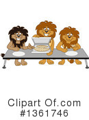 Lion School Mascot Clipart #1361746 by Toons4Biz