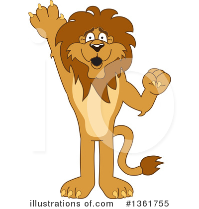 Lion Character Clipart #1361755 by Toons4Biz