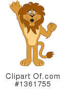 Lion School Mascot Clipart #1361755 by Toons4Biz