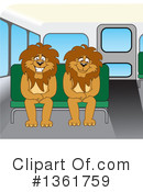 Lion School Mascot Clipart #1361759
