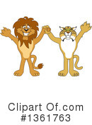 Lion School Mascot Clipart #1361763 by Toons4Biz