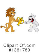 Lion School Mascot Clipart #1361769 by Toons4Biz