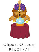 Lion School Mascot Clipart #1361771