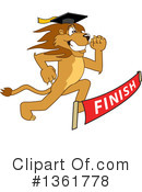 Lion School Mascot Clipart #1361778 by Toons4Biz