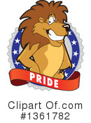Lion School Mascot Clipart #1361782 by Toons4Biz