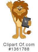 Lion School Mascot Clipart #1361788 by Toons4Biz