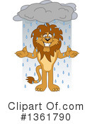 Lion School Mascot Clipart #1361790 by Toons4Biz