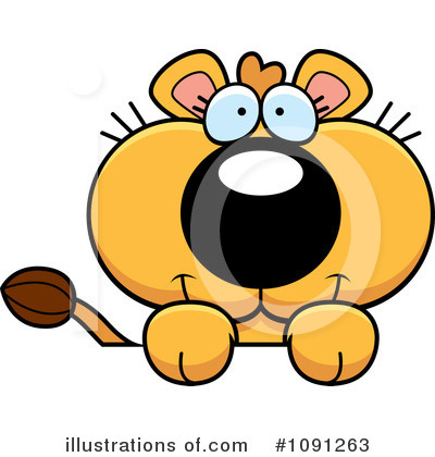Lion Clipart #1091263 by Cory Thoman
