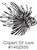 Lionfish Clipart #1402500 by xunantunich
