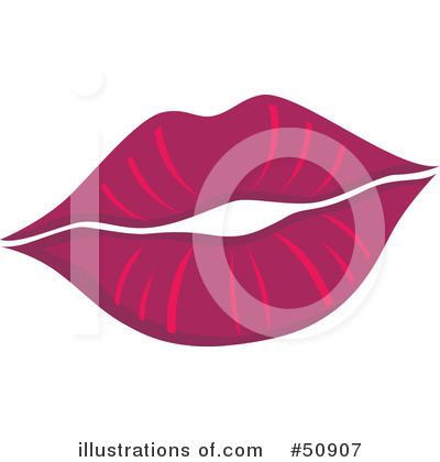 Lips Clipart #50907 by Cherie Reve | Royalty-Free (RF) Stock Illustrations