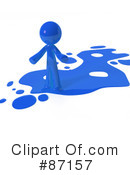 Royalty-Free (RF) Liquid Clipart Illustration #87157