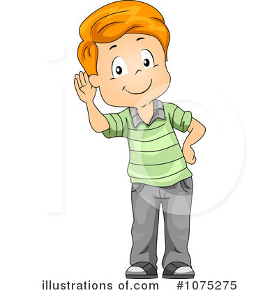 Royalty-Free (RF) Listening Clipart Illustration by BNP Design Studio ...