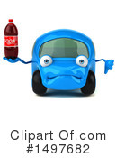 Little Blue Car Clipart #1497682 by Julos