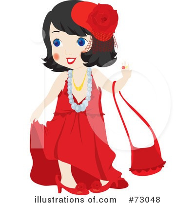 Dress Clipart #73048 by Rosie Piter