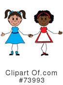 Little Girl Clipart #73993 by Pams Clipart