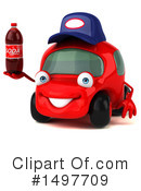 Little Red Car Clipart #1497709 by Julos