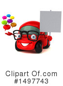 Little Red Car Clipart #1497743 by Julos