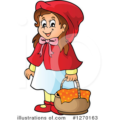 Little Red Riding Hood Clipart #1270163 by visekart