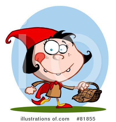 Little Red Riding Hood Clipart #81855 by Hit Toon