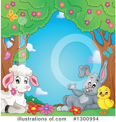 Rabbit Clipart #1300994 by visekart