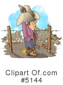 Royalty-Free (RF) livestock Clipart Illustration #5144