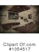 Living Room Clipart #1054517 by KJ Pargeter