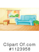 Living Room Clipart #1123958 by Graphics RF