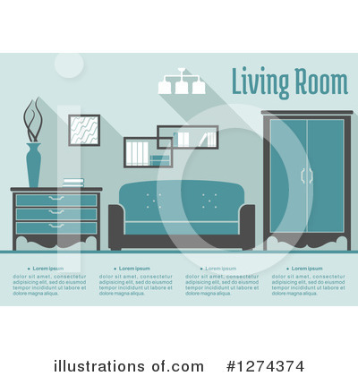 Furniture Clipart #1274374 by Vector Tradition SM