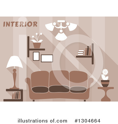 Furniture Clipart #1304664 by Vector Tradition SM