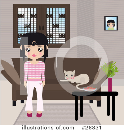 Girl Clipart #28831 by Melisende Vector