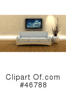 Living Room Clipart #46788 by KJ Pargeter