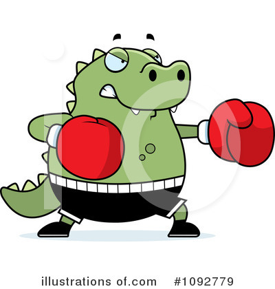 Boxer Clipart #1092779 by Cory Thoman