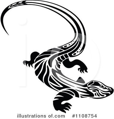 Lizard Clipart #1108754 by Vector Tradition SM