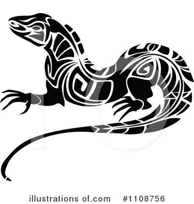 Lizard Clipart #1108756 by Vector Tradition SM