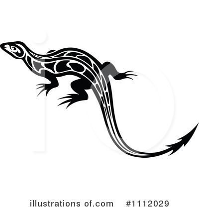 Lizard Clipart #1112029 by Vector Tradition SM