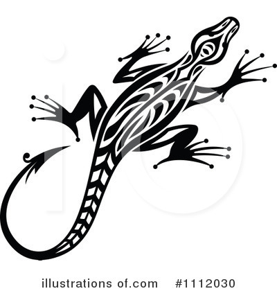 Crocodile Clipart #1112030 by Vector Tradition SM