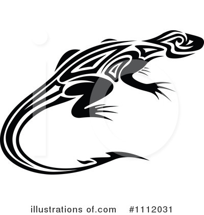 Lizard Clipart #1112031 by Vector Tradition SM