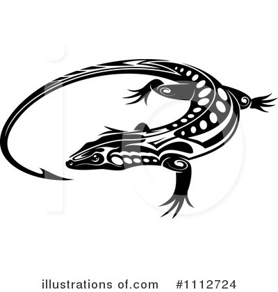 Lizard Clipart #1112724 by Vector Tradition SM