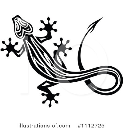 Lizard Clipart #1112725 by Vector Tradition SM
