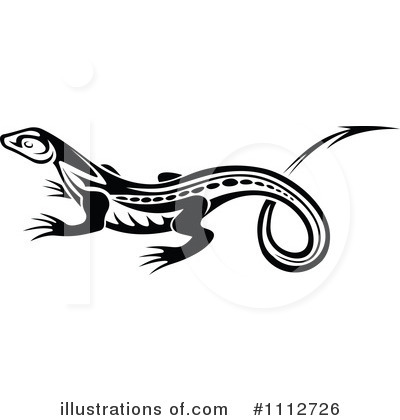 Lizard Clipart #1112726 by Vector Tradition SM