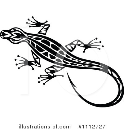 Crocodile Clipart #1112727 by Vector Tradition SM