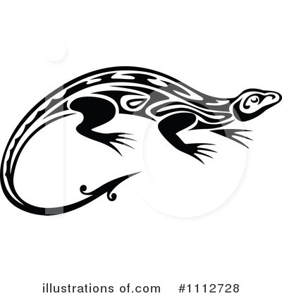 Lizard Clipart #1112728 by Vector Tradition SM