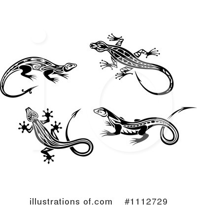 Lizard Clipart #1112729 by Vector Tradition SM
