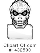 Royalty-Free (RF) Lizardman Skull Clipart Illustration #1432590